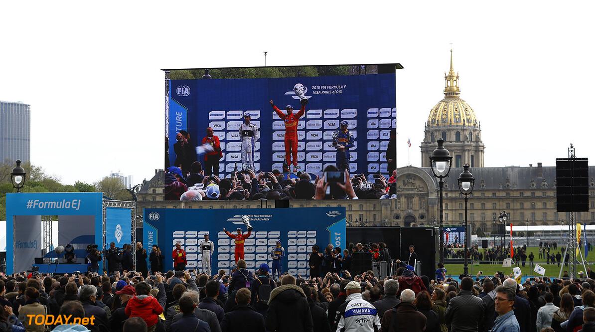 2015/2016 FIA Formula E Championship. Paris ePrix, Paris, France. Saturday 23 April 2016.  Photo: Steven Tee/LAT/Formula E ref: Digital Image _H7I9822  Steven Tee    fe formula e