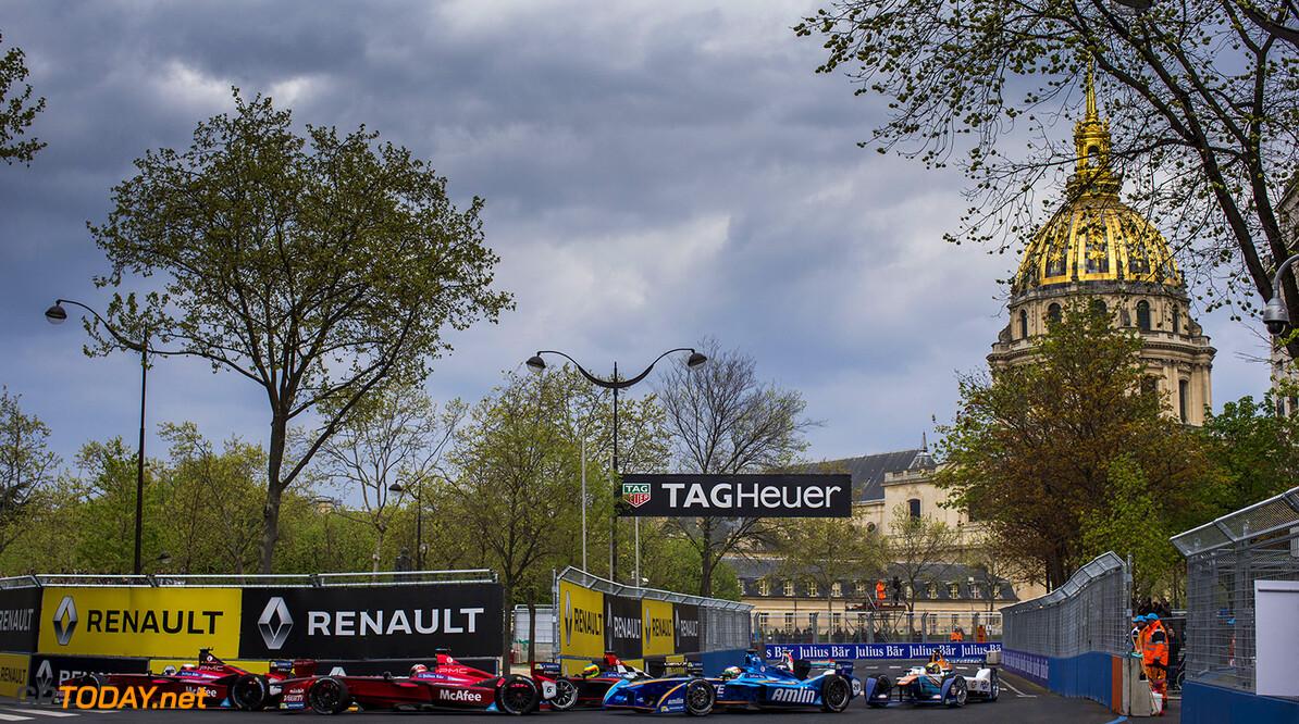 2015/2016 FIA Formula E Championship. Paris ePrix, Paris, France. Saturday 23 April 2016.  Photo: Zak Mauger/LAT/Formula E ref: Digital Image _L0U5691  Zak Mauger    fe formula e