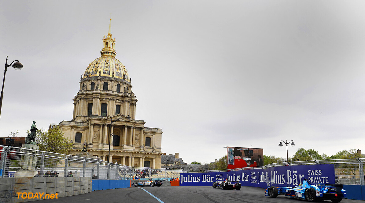 Qualifying Session.  Paris e-Prix,  Paris, France, Europe. Saturday 23 April 2016 Photo: Steven Tee /LAT/FE ref: Digital Image _H7I9029   Steven Tee
