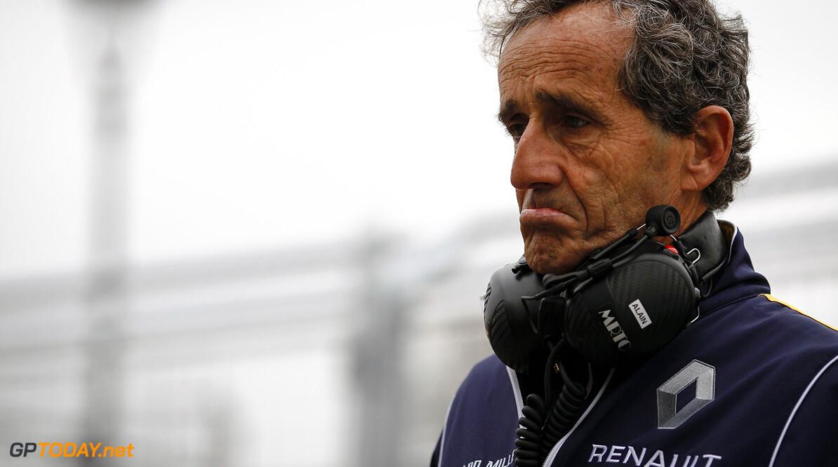 Practice Session One.  Alain Prost. Paris e-Prix,  Paris, France, Europe. Saturday 23 April 2016 Photo: Adam Warner /LAT/FE ref: Digital Image _A8C0826   Adam Warner