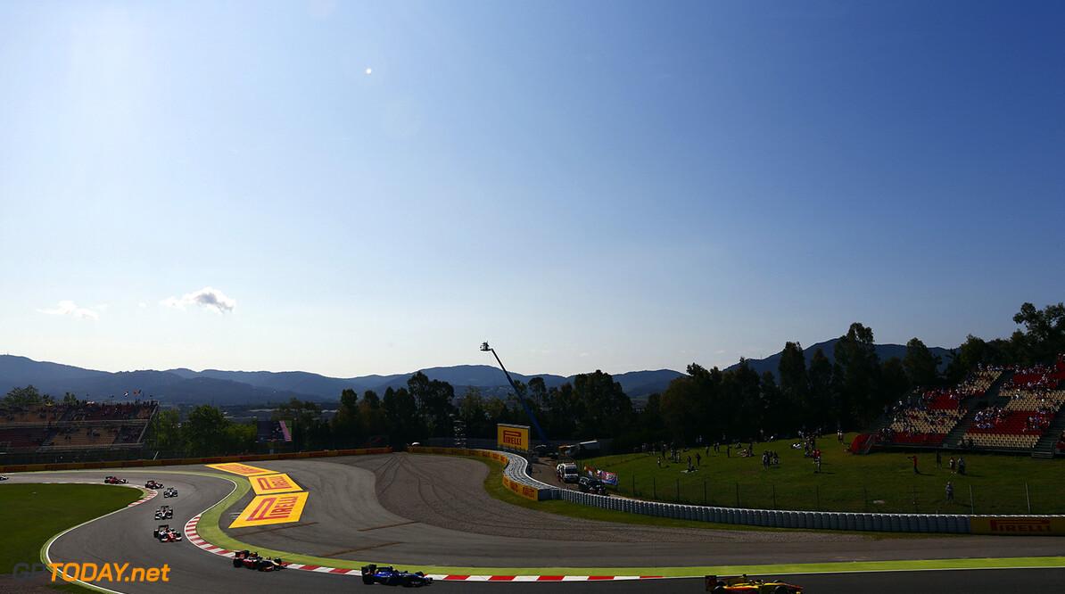 2016 GP2 Series Round 1.  Circuit de Catalunya, Barcelona, Spain. Sunday 15 May 2016. Mitch Evans (NZL, Pertamina Campos Racing)  Photo: Zak Mauger/GP2 Series Media Service. ref: Digital Image _L0U9610   Zak Mauger    Race Two 2 Sprint action