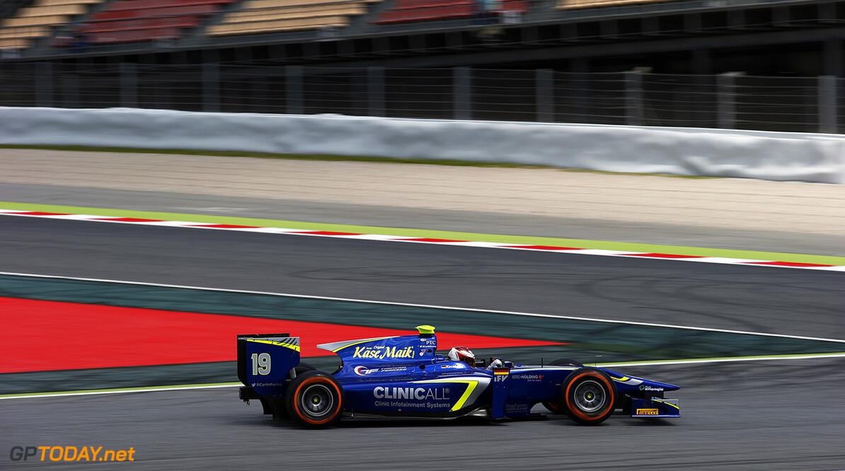 2016 GP2 Series Round 1 Circuit de Catalunya, Barcelona, Spain. Friday 13 May 2016. Marvin Kirchhofer (GER, Carlin)  Photo: Sam Bloxham/GP2 Series Media Service. ref: Digital Image _L4R7379  Sam Bloxham    Practice action