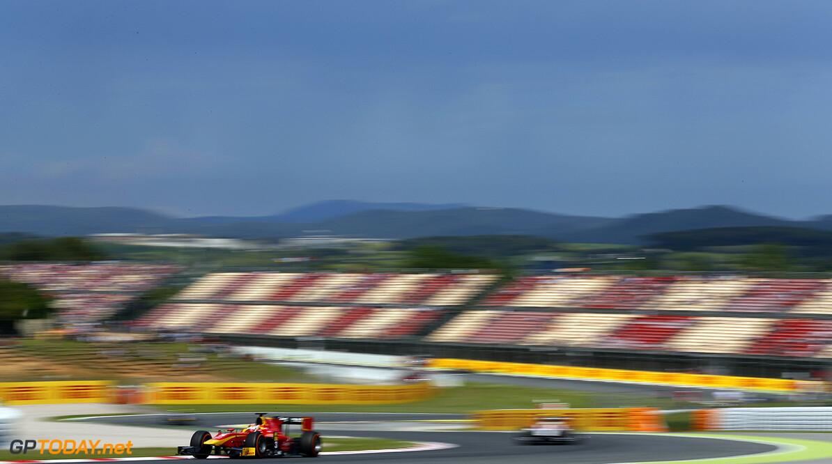 2016 GP2 Series Round 1 Circuit de Catalunya, Barcelona, Spain. Saturday 14 May 2016. Norman Nato (FRA, Racing Engineering)  Photo: Sam Bloxham/GP2 Series Media Service. ref: Digital Image _R6T8933  Sam Bloxham    race 1 one feature action