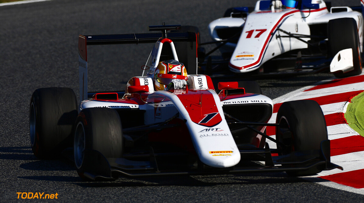2016 GP3 Series Round 1. 