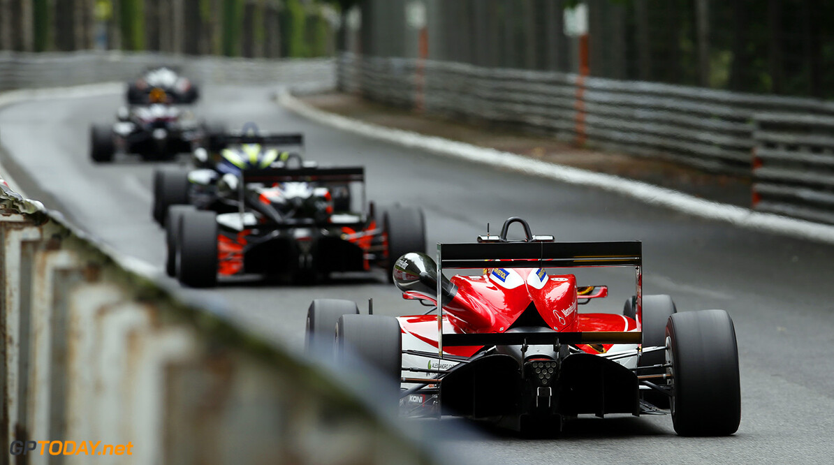FIA Formula 3 European Championship, round 3, race 2, Pau (FRA) 1 Lance Stroll (CAN, Prema Powerteam, Dallara F312 - Mercedes-Benz), FIA Formula 3 European Championship, round 3, race 2, Pau (FRA), 13. - 15. May 2016 FIA Formula 3 European Championship 2016, round 3, race 2, Pau (FRA) Thomas Suer Pau France