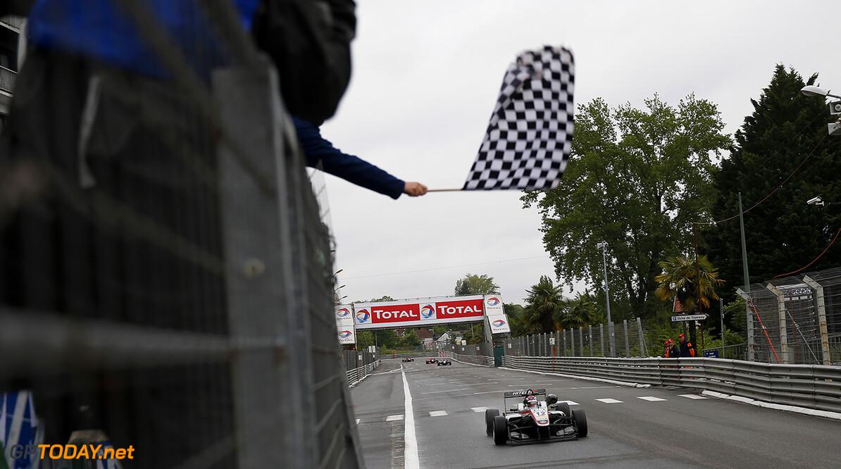 FIA Formula 3 European Championship, round 3, race 2, Pau (FRA) 12 George Russell (GBR, HitechGP, Dallara F312 - Mercedes-Benz), FIA Formula 3 European Championship, round 3, race 2, Pau (FRA), 13. - 15. May 2016 FIA Formula 3 European Championship 2016, round 3, race 2, Pau (FRA) Thomas Suer Pau France