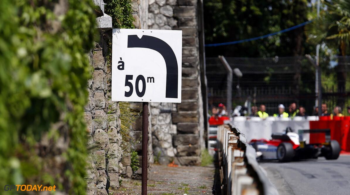 FIA Formula 3 European Championship, round 3, race 3, Pau (FRA) 50 m sign, 16 Ralf Aron (EST, Prema Powerteam, Dallara F312 - Mercedes-Benz), FIA Formula 3 European Championship, round 3, race 3, Pau (FRA), 13. - 15. May 2016 FIA Formula 3 European Championship 2016, round 3, race 3, Pau (FRA) Thomas Suer Pau France