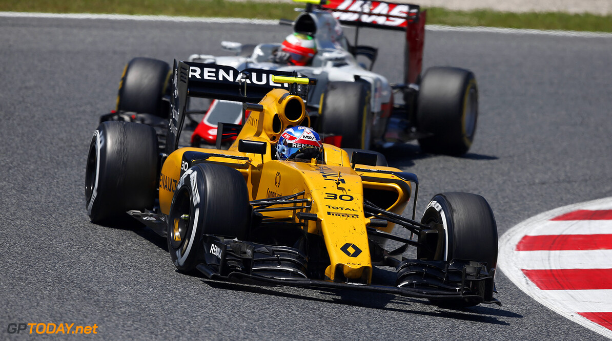 30 PALMER Jolyon (gbr) Renault RS16 action during 2016 Formula 1 FIA world championship, Spain Grand Prix, at Barcelona Catalunya from May 13 to 15 - Photo Florent Gooden / DPPI F1 - SPAIN GRAND PRIX 2016 Florent Gooden Barcelona Espagne  circuit espagne europe f1 formula one formule 1 formule un gp grand prix race mai barcelone