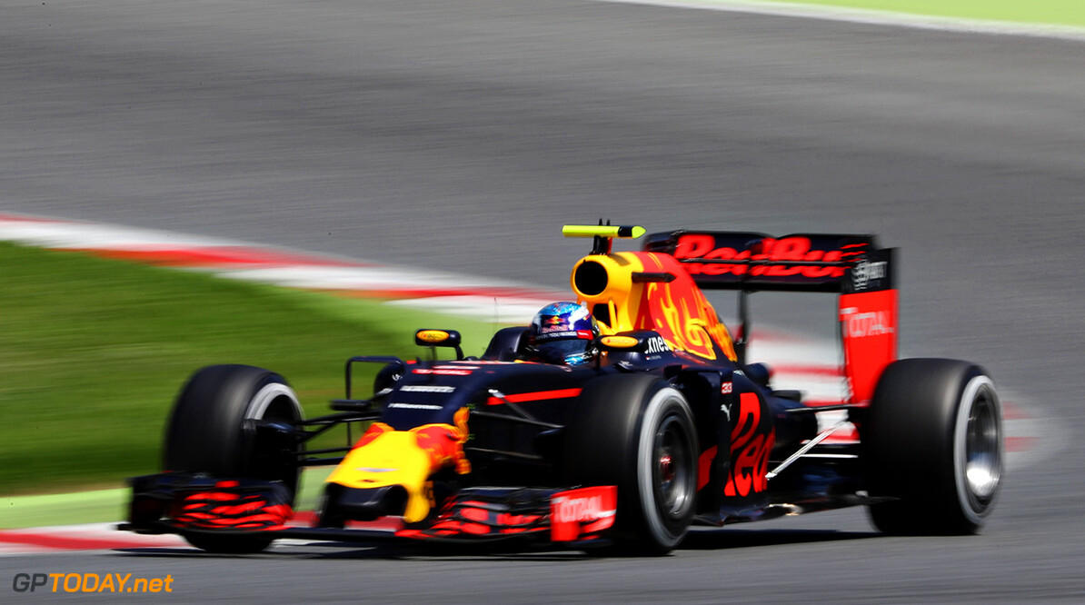 MONTMELO, SPAIN - MAY 15: Max Verstappen of the Netherlands driving the (33) Red Bull Racing Red Bull-TAG Heuer RB12 TAG Heuer on track during the Spanish Formula One Grand Prix at Circuit de Catalunya on May 15, 2016 in Montmelo, Spain.  (Photo by Mark Thompson/Getty Images) // Getty Images / Red Bull Content Pool  // P-20160515-01250 // Usage for editorial use only // Please go to www.redbullcontentpool.com for further information. //  Spanish F1 Grand Prix Mark Thompson  Spain  P-20160515-01250