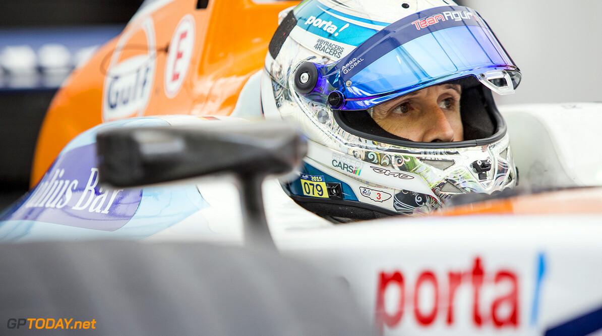 2015/2016 FIA Formula E Championship. Berlin ePrix, Berlin, Germany. Saturday 21 May 2016. Rene Rast (GER), Team Aguri - Spark SRT_01E  Photo: Zak Mauger/LAT/Formula E ref: Digital Image _L0U1421  Zak Mauger    fe formula e portrait
