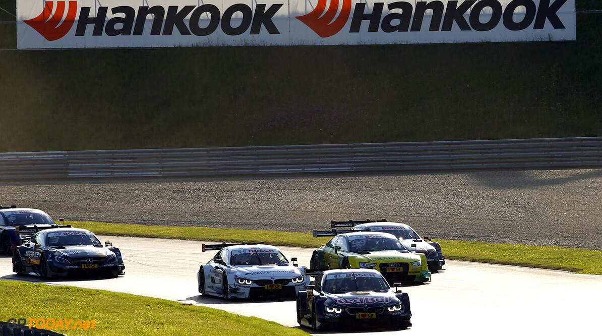 #11 Marco Wittmann, BMW M4 DTM, #100 Martin Tomczyk, BMW 4 DTM, #99 Mike Rockenfeller, Audi RS5 DTM
