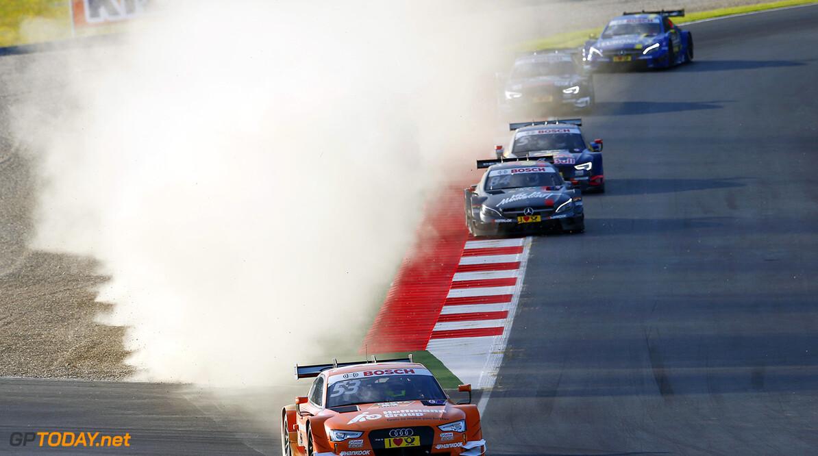 #53 Jamie Green, Audi RS5 DTM, #84 Maximilian G?tz, Mercedes-AMG C 63 DTM, #5 Mattias Ekstr?m, Audi RS5 DTM
