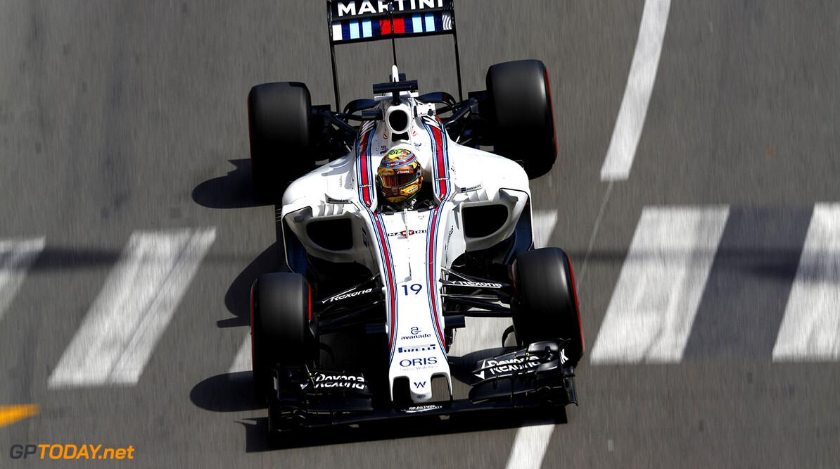 Monte Carlo, Monaco. Thursday 26 May 2016. Felipe Massa, Williams FW38 Mercedes. Photo: Sam Bloxham/Williams ref: Digital Image _14P7330  Sam Bloxham    Action
