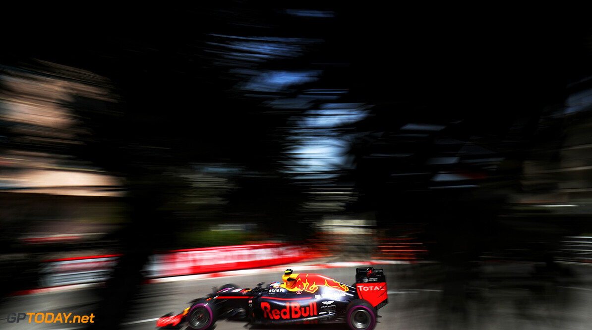 MONTE-CARLO, MONACO - MAY 26: Max Verstappen of the Netherlands driving the (33) Red Bull Racing Red Bull-TAG Heuer RB12 TAG Heuer on track during practice for the Monaco Formula One Grand Prix at Circuit de Monaco on May 26, 2016 in Monte-Carlo, Monaco.  (Photo by Lars Baron/Getty Images) // Getty Images / Red Bull Content Pool  // P-20160526-00423 // Usage for editorial use only // Please go to www.redbullcontentpool.com for further information. //  F1 Grand Prix of Monaco - Practice Lars Baron Monte-Carlo (City) Monaco  P-20160526-00423