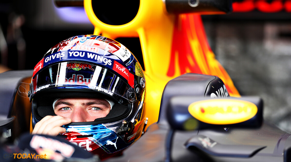 MONTE-CARLO, MONACO - MAY 26:  Max Verstappen of Netherlands and Red Bull Racing in the garage during practice for the Monaco Formula One Grand Prix at Circuit de Monaco on May 26, 2016 in Monte-Carlo, Monaco.  (Photo by Mark Thompson/Getty Images) // Getty Images / Red Bull Content Pool  // P-20160526-00372 // Usage for editorial use only // Please go to www.redbullcontentpool.com for further information. //  F1 Grand Prix of Monaco - Practice Mark Thompson Monte-Carlo (City) Monaco  P-20160526-00372