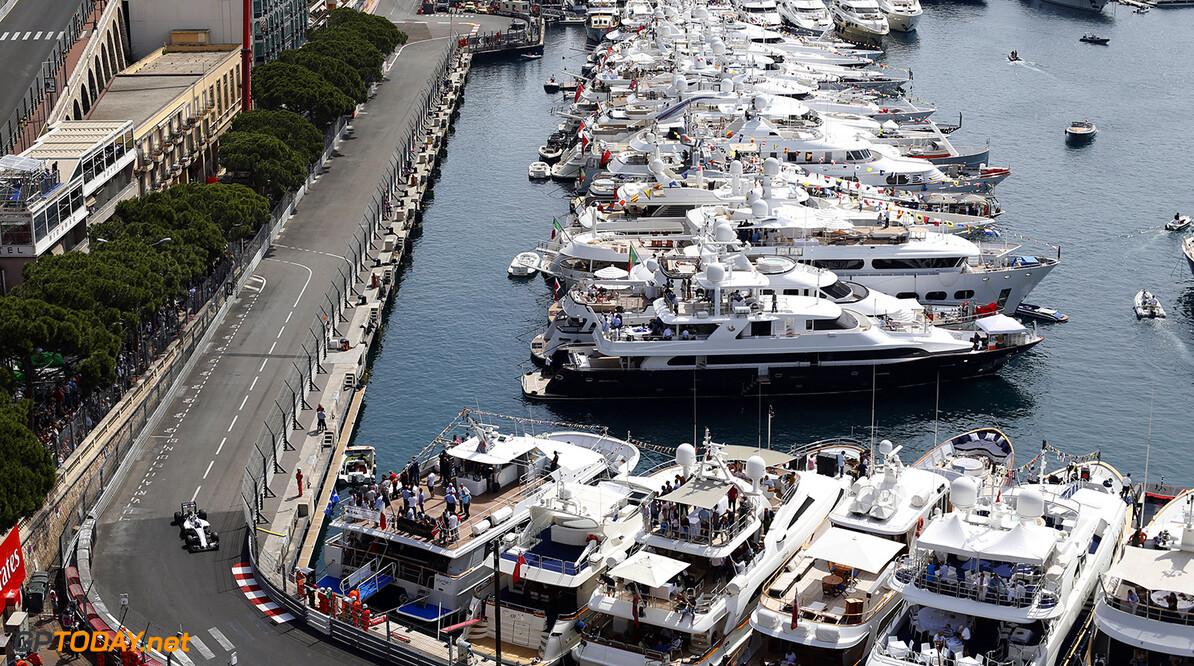 Monte Carlo, Monaco. Thursday 26 May 2016. Valtteri Bottas, Williams FW38 Mercedes. Photo: Steven Tee/Williams ref: Digital Image _X0W5645  Steven Tee    Action Atmosphere
