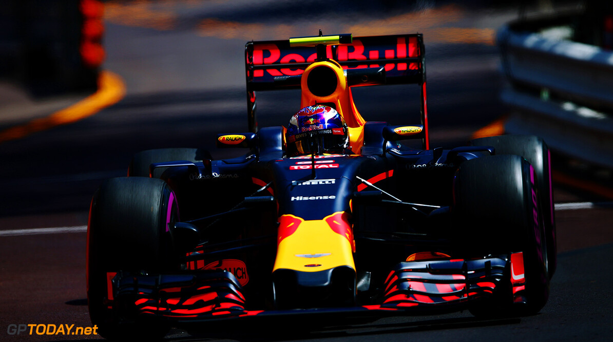 MONTE-CARLO, MONACO - MAY 26: Max Verstappen of the Netherlands driving the (33) Red Bull Racing Red Bull-TAG Heuer RB12 TAG Heuer on track during practice for the Monaco Formula One Grand Prix at Circuit de Monaco on May 26, 2016 in Monte-Carlo, Monaco.  (Photo by Dan Istitene/Getty Images) // Getty Images / Red Bull Content Pool  // P-20160526-00487 // Usage for editorial use only // Please go to www.redbullcontentpool.com for further information. //  F1 Grand Prix of Monaco - Practice Dan Istitene Monte-Carlo (City) Monaco  P-20160526-00487