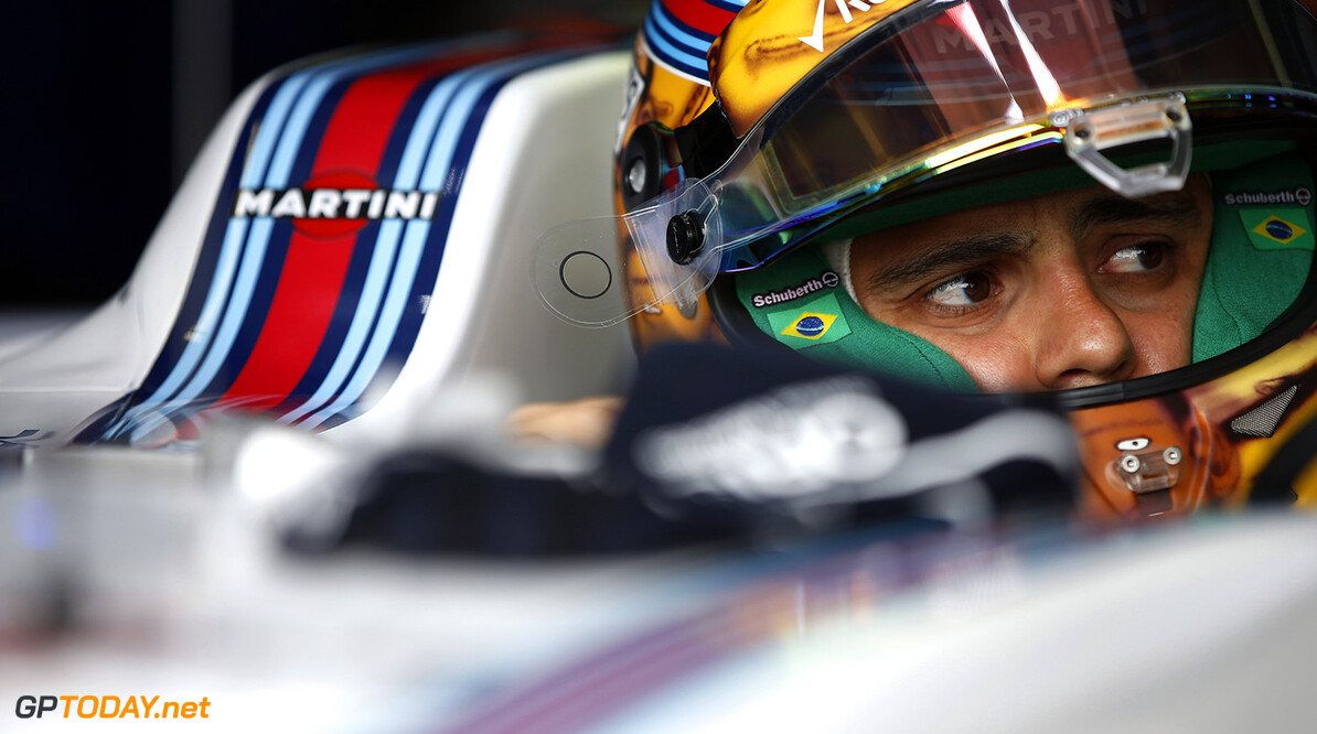 Monte Carlo, Monaco. Thursday 26 May 2016. Felipe Massa, Williams Martini Racing. Photo: Glenn Dunbar/Williams ref: Digital Image _W2Q2240      Portrait Helmets