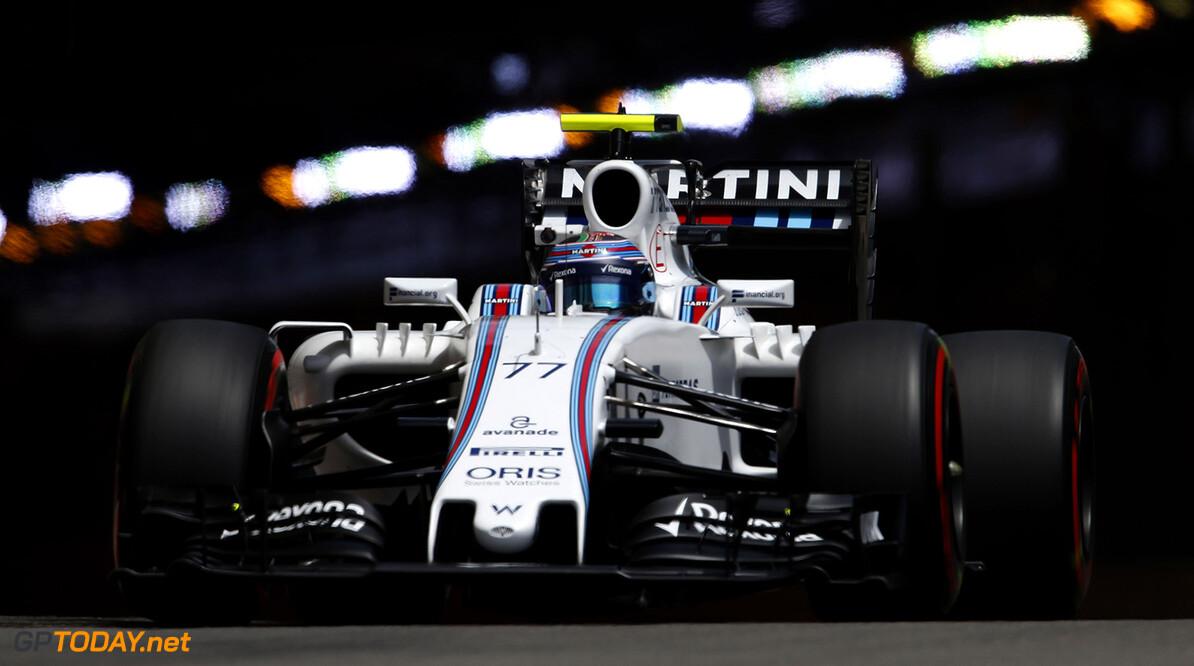 Monte Carlo, Monaco. Thursday 26 May 2016. Valtteri Bottas, Williams FW38 Mercedes. Photo: Glenn Dunbar/Williams ref: Digital Image _89P1612      Action