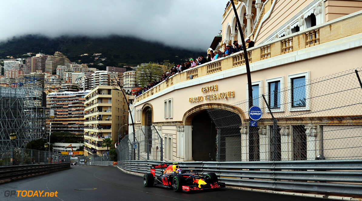 MONTE-CARLO, MONACO - MAY 29: Max Verstappen of the Netherlands driving the (33) Red Bull Racing Red Bull-TAG Heuer RB12 TAG Heuer on track during the Monaco Formula One Grand Prix at Circuit de Monaco on May 29, 2016 in Monte-Carlo, Monaco.  (Photo by Mark Thompson/Getty Images) // Getty Images / Red Bull Content Pool  // P-20160529-01992 // Usage for editorial use only // Please go to www.redbullcontentpool.com for further information. //  F1 Grand Prix of Monaco Mark Thompson Monte-Carlo (City) Monaco  P-20160529-01992