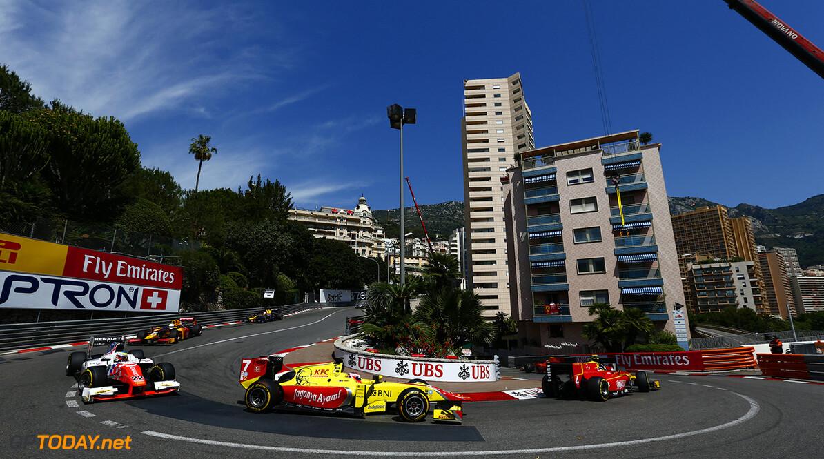 2016 GP2 Series Round 2.  Monte Carlo, Monaco. Friday 27 May 2016. Mitch Evans (NZL, Pertamina Campos Racing)  Photo: Zak Mauger/GP2 Series Media Service. ref: Digital Image _L0U3446   Zak Mauger    Race One 1 Feature