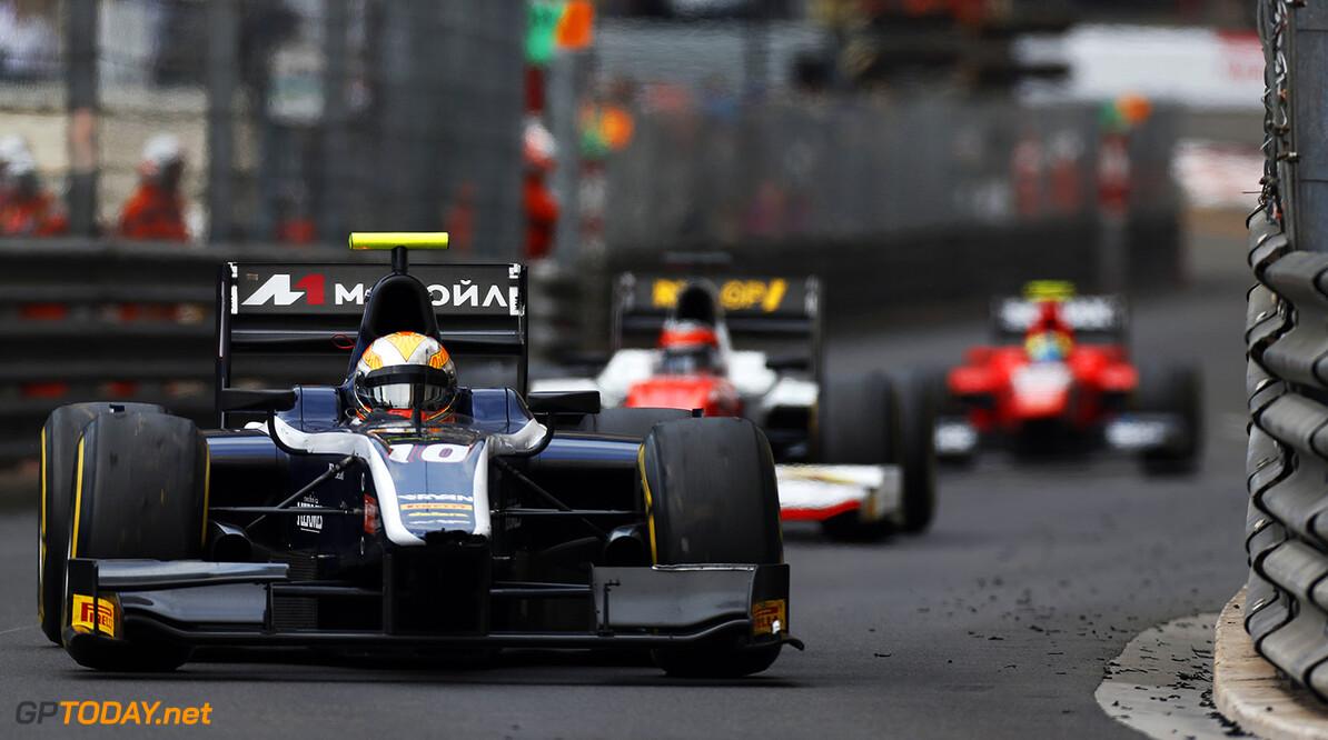 2016 GP2 Series Round 2 Monte Carlo, Monaco. Friday 27 May 2016. Artem Markelov (RUS, RUSSIAN TIME)  Photo: Sam Bloxham/GP2 Series Media Service. ref: Digital Image _R6T5272  Sam Bloxham    Race 1 one feature action
