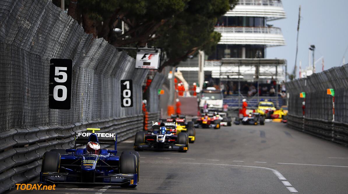2016 GP2 Series Round 2 Monte Carlo, Monaco. Saturday 28 May 2016. Marvin Kirchhofer (GER, Carlin)  Photo: Glenn Dunbar/GP2 Series Media Service. ref: Digital Image _89P4409  Sam Bloxham    Race 2 two sprint grid