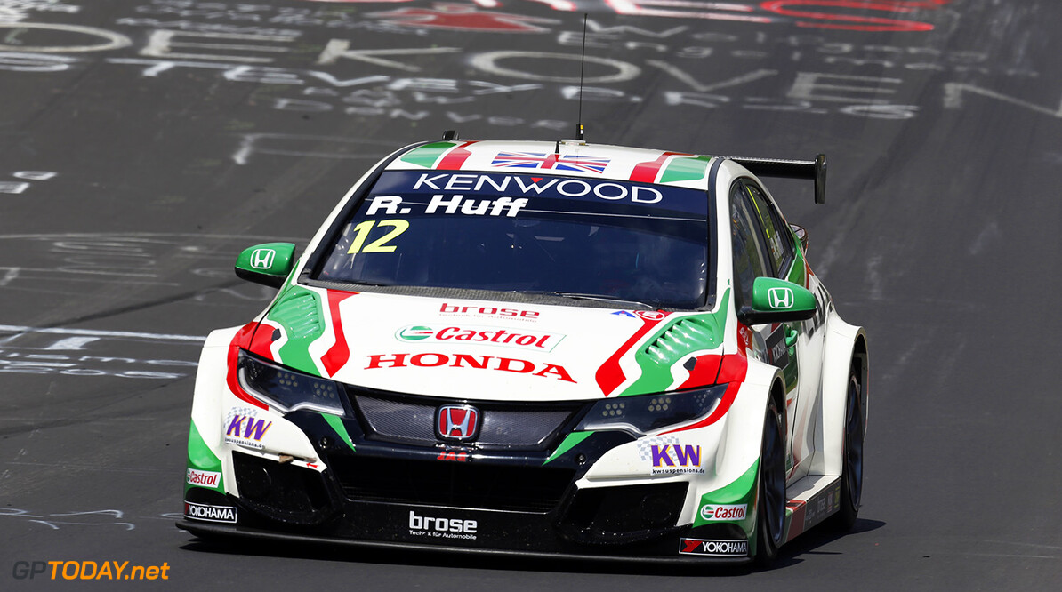 12 HUFF Rob (GBR) Honda Civic team Castrol Honda WTCC action during the 2016 FIA WTCC World Touring Car Race of Nurburgring, Germany from May 27 to 29 - Photo Cl?ment Marin / DPPI AUTO - WTCC NURBURGING 2016 Clement Marin Nurburg Allemagne  allemagne auto championnat du monde circuit course europe fia motorsport tourisme wtcc