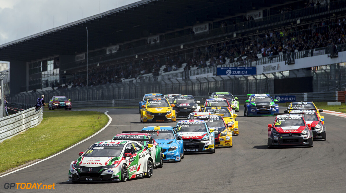 START 1 18 MONTEIRO Tiago (por) Honda Civic team Castrol Honda WTCC action during the 2016 FIA WTCC World Touring Car Race of Nurburgring, Germany from May 27 to 29 - Photo Jean Michel Le Meur / DPPI AUTO - WTCC NURBURGING 2016 Jean Michel Le Meur Nurburg Allemagne  allemagne auto championnat du monde circuit course europe fia motorsport tourisme wtcc