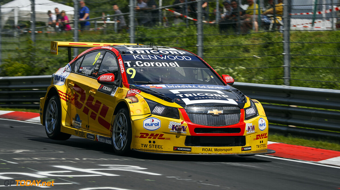 09 CORONEL Tom (ned) Chevrolet Cruze RML team Roal Motorsport action during the 2016 FIA WTCC World Touring Car Race of Nurburgring, Germany from May 27 to 29 - Photo Florent Gooden / DPPI AUTO - WTCC NURBURGING 2016 Florent Gooden Nurburg Allemagne  AUTO CHAMPIONNAT DU MONDE CIRCUIT COURSE FIA Motorsport TOURISME WTCC allemagne europe
