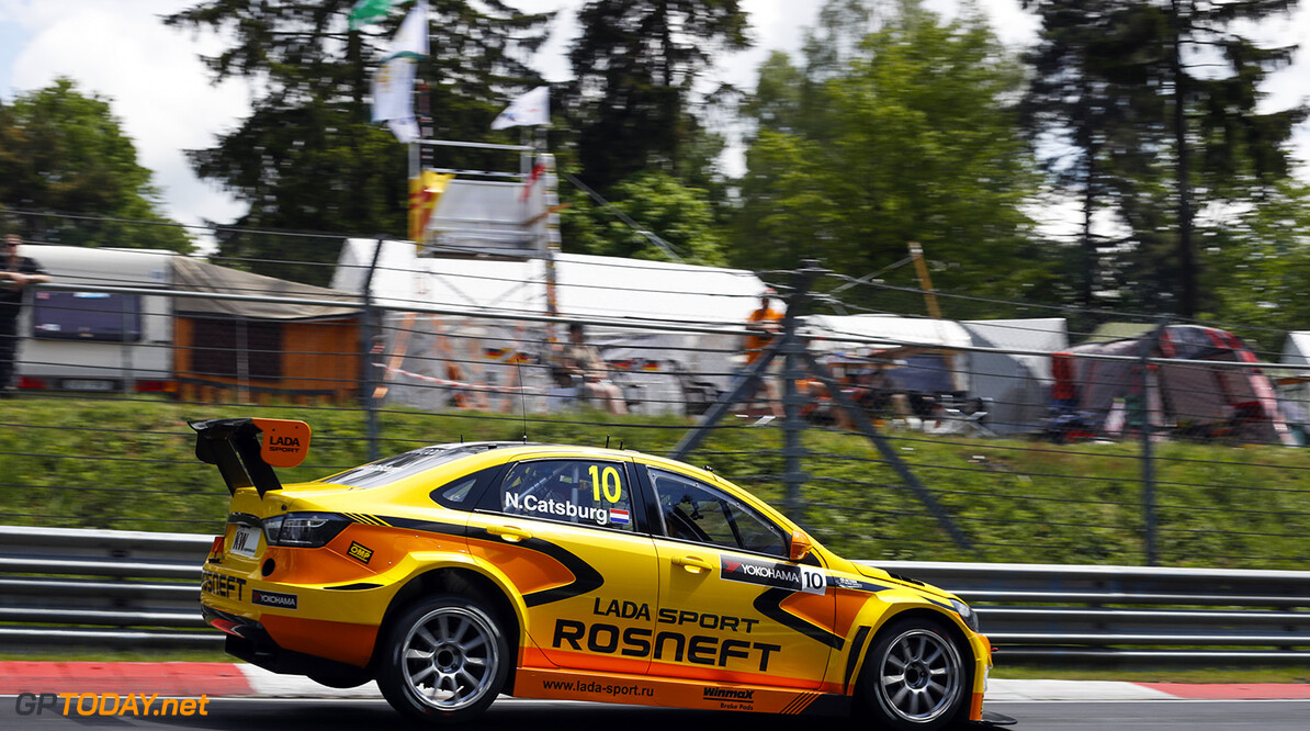 10 CATSBURG Nicky (ned) Lada Vesta team Lada Sport Rosneft action during the 2016 FIA WTCC World Touring Car Race of Nurburgring, Germany from May 27 to 29 - Photo Florent Gooden / DPPI AUTO - WTCC NURBURGING 2016 Florent Gooden Nurburg Allemagne  AUTO CHAMPIONNAT DU MONDE CIRCUIT COURSE FIA Motorsport TOURISME WTCC allemagne europe