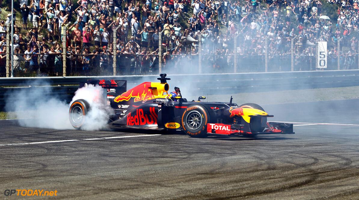 Max Verstappen 7 keer op circuit Zandvoort tijdens racedagen