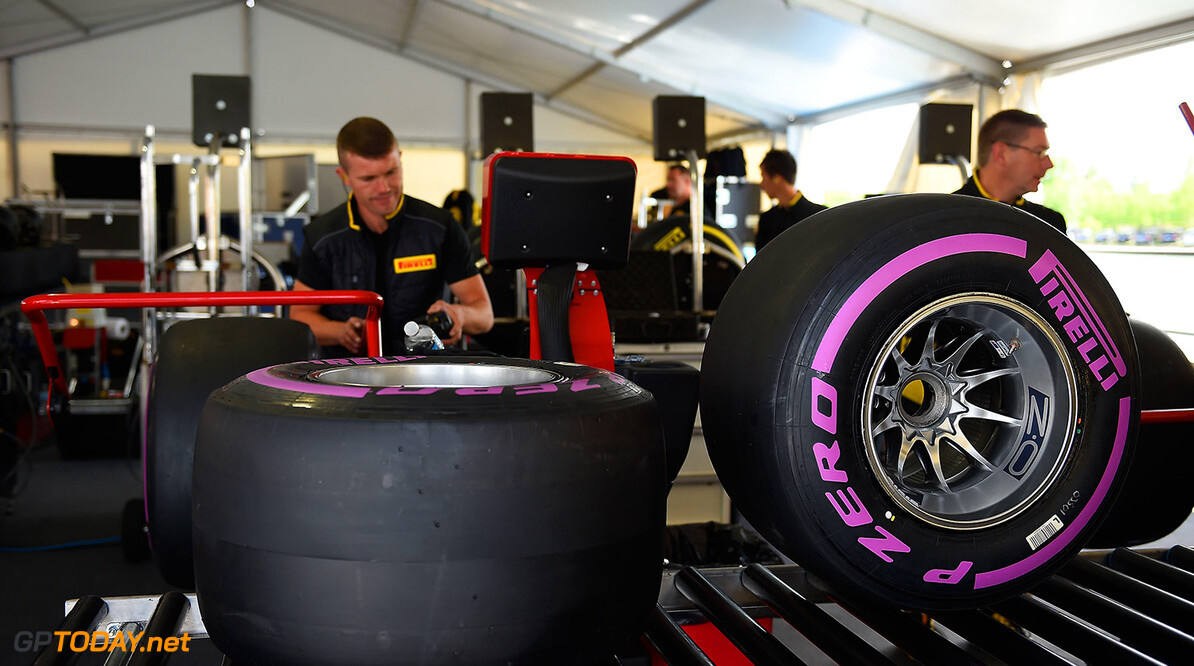 Pirelli's ultra soft tyres to be pink in Austin