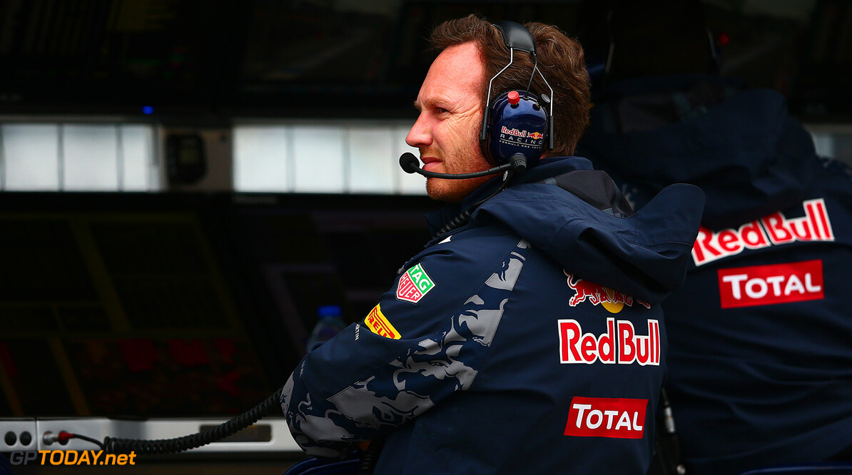 MONTREAL, QC - JUNE 11:  Red Bull Racing Team Principal Christian Horner looks on from the pit wall during final practice ahead of the Canadian Formula One Grand Prix at Circuit Gilles Villeneuve on June 11, 2016 in Montreal, Canada.  (Photo by Dan Istitene/Getty Images) // Getty Images / Red Bull Content Pool  // P-20160611-00744 // Usage for editorial use only // Please go to www.redbullcontentpool.com for further information. //  Canadian F1 Grand Prix - Qualifying Dan Istitene Montreal (City) Canada  P-20160611-00744
