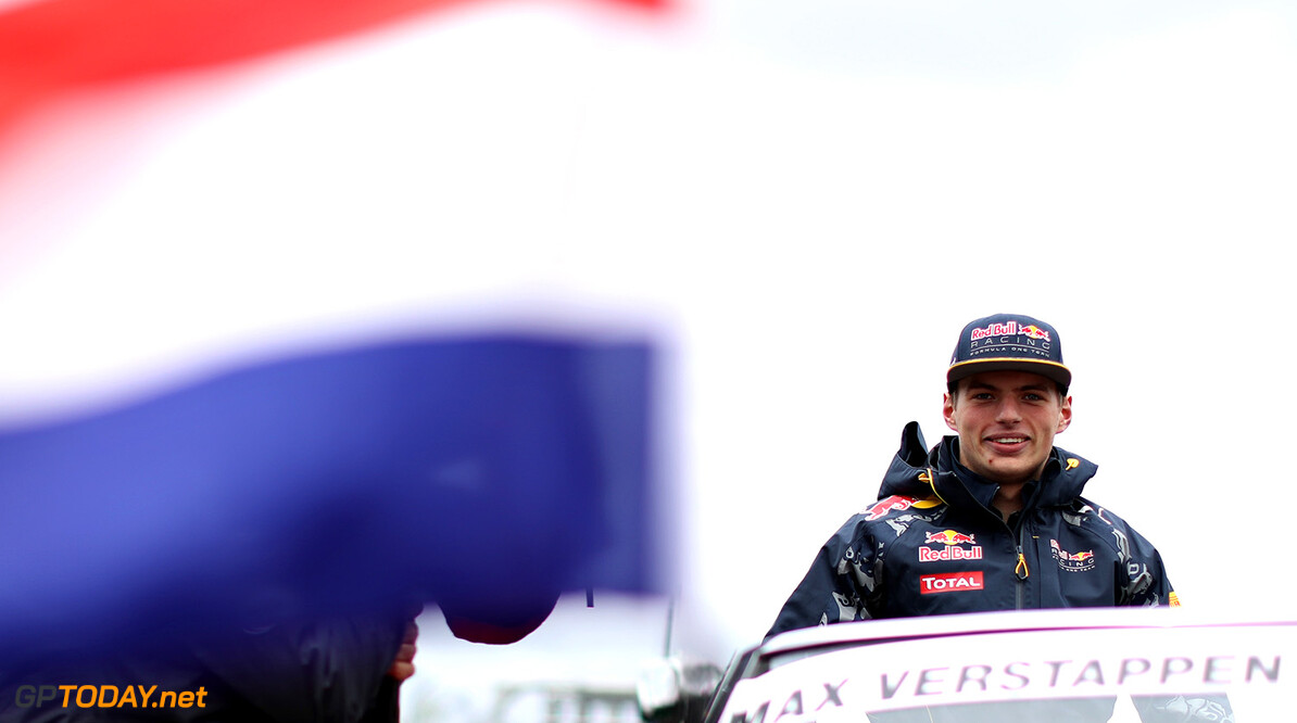 MONTREAL, QC - JUNE 12:  Max Verstappen of Netherlands and Red Bull Racing on the drivers parade ahead of the Canadian Formula One Grand Prix at Circuit Gilles Villeneuve on June 12, 2016 in Montreal, Canada.  (Photo by Mark Thompson/Getty Images) // Getty Images / Red Bull Content Pool  // P-20160612-01165 // Usage for editorial use only // Please go to www.redbullcontentpool.com for further information. //  Canadian F1 Grand Prix Mark Thompson Montreal (City) Canada  P-20160612-01165