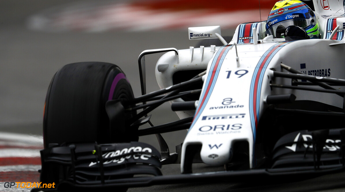 Circuit Gilles Villeneuve, Montreal, Canada. Saturday 11 June 2016. Felipe Massa, Williams FW38 Mercedes. Photo: Glenn Dunbar/Williams ref: Digital Image _V2I2459      Action