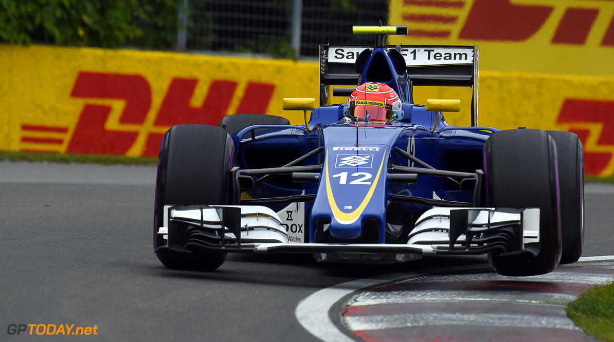 Canadian GP Saturday 11/06/16 Felipe Nasr (BRA), Sauber F1 Team.  Circuit Ile Notre Dame.  Canadian GP Saturday 11/06/16 Studio Colombo                   Montreal Canada  F1 Formula 1 One 2016 Action Nasr Sauber