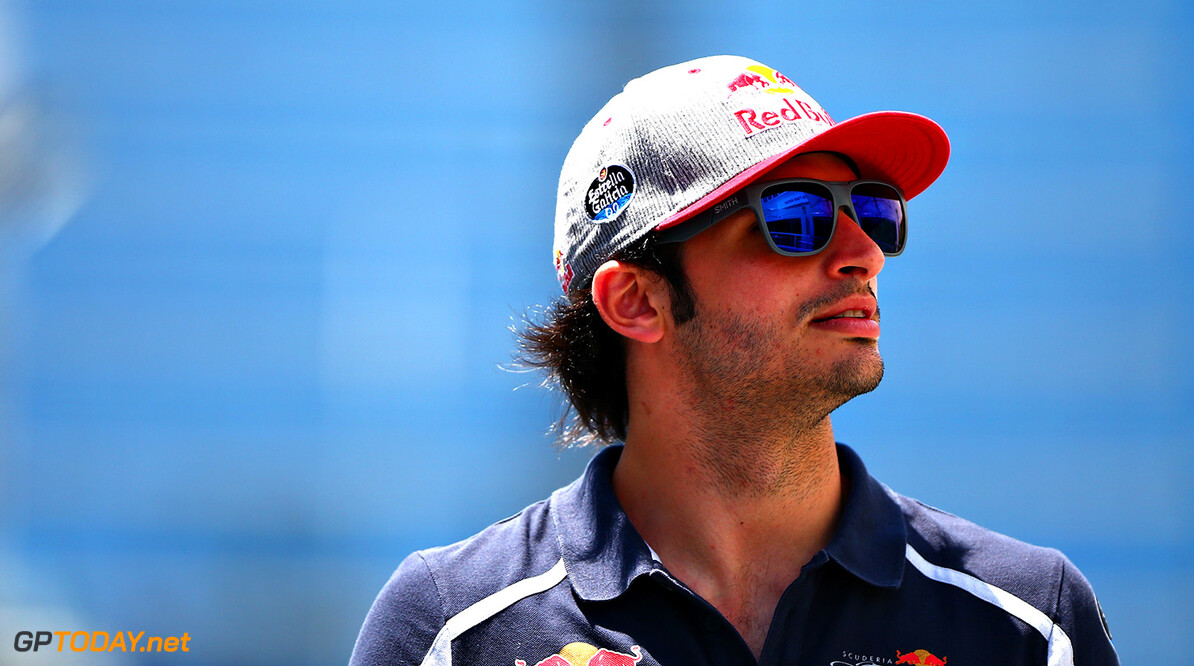 BAKU, AZERBAIJAN - JUNE 16:  Carlos Sainz of Spain and Scuderia Toro Rosso in the Paddock during previews ahead of the European Formula One Grand Prix at Baku City Circuit on June 16, 2016 in Baku, Azerbaijan.  (Photo by Dan Istitene/Getty Images,) // Getty Images / Red Bull Content Pool  // P-20160616-00177 // Usage for editorial use only // Please go to www.redbullcontentpool.com for further information. //  European F1 Grand Prix - Previews Dan Istitene  Azerbaijan  P-20160616-00177