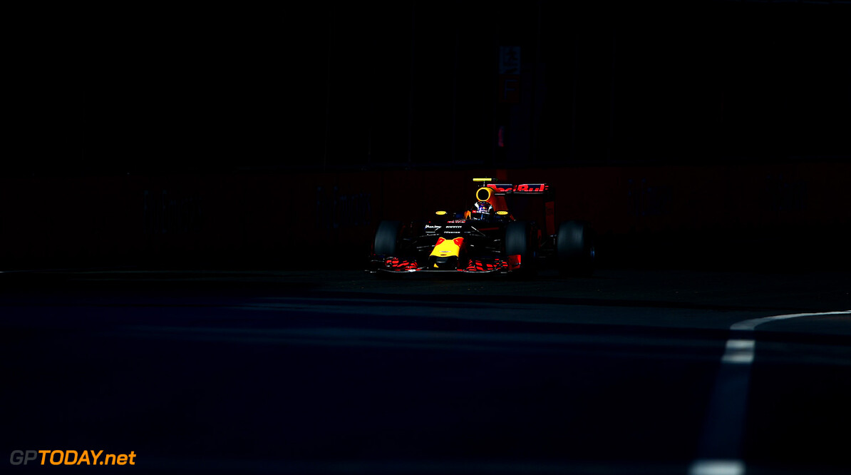 BAKU, AZERBAIJAN - JUNE 19:  Max Verstappen of the Netherlands drives the 6 Red Bull Racing Red Bull-TAG Heuer RB12 TAG Heuer during the European Formula One Grand Prix at Baku City Circuit on June 19, 2016 in Baku, Azerbaijan.  (Photo by Dan Istitene/Getty Images) // Getty Images / Red Bull Content Pool  // P-20160619-00696 // Usage for editorial use only // Please go to www.redbullcontentpool.com for further information. //  European F1 Grand Prix Dan Istitene  Azerbaijan  P-20160619-00696