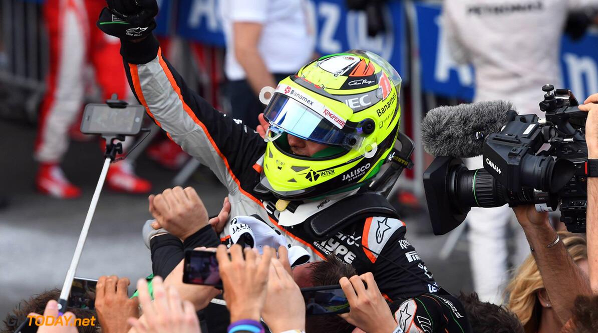 """Sergio Perez: """"Esteban Ocon vervangt een van de beste coureurs van de grid"""""""