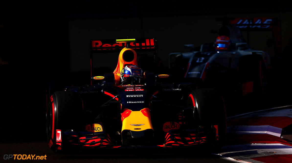 BAKU, AZERBAIJAN - JUNE 19:  Max Verstappen of the Netherlands drives the 6 Red Bull Racing Red Bull-TAG Heuer RB12 TAG Heuer during the European Formula One Grand Prix at Baku City Circuit on June 19, 2016 in Baku, Azerbaijan.  (Photo by Dan Istitene/Getty Images) // Getty Images / Red Bull Content Pool  // P-20160619-00824 // Usage for editorial use only // Please go to www.redbullcontentpool.com for further information. //  European F1 Grand Prix Dan Istitene  Azerbaijan  P-20160619-00824