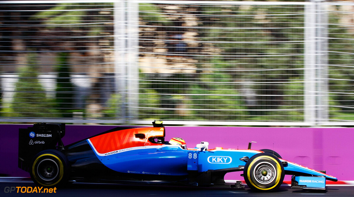 Formula One World Championship Rio Haryanto (IDN) Manor Racing MRT05. 19.06.2016. Formula 1 World Championship, Rd 8, European Grand Prix, Baku Street Circuit, Azerbaijan, Race Day. Motor Racing - Formula One World Championship - European Grand Prix - Race Day - Baku, Azerbaijan Manor Racing Baku Azerbaijan  Formel1 Formel F1 Formula 1 Formula1 GP Grand Prix one Circuit June Europe European Baku Azerbaijan Sunday 19 6 06 2016 Action Track