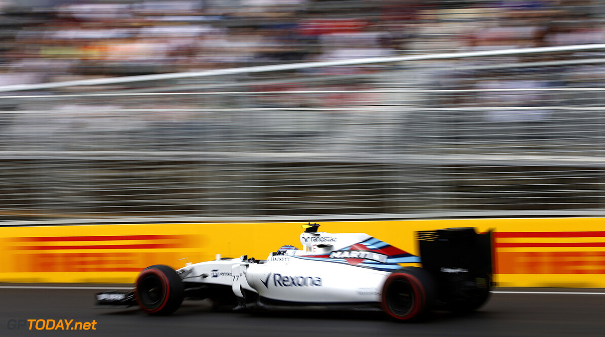 Baku City Circuit, Baku, Azerbaijan. Saturday 18 June 2016. Valtteri Bottas, Williams FW38 Mercedes. Photo: Glenn Dunbar/Williams ref: Digital Image _W2Q8451      Action