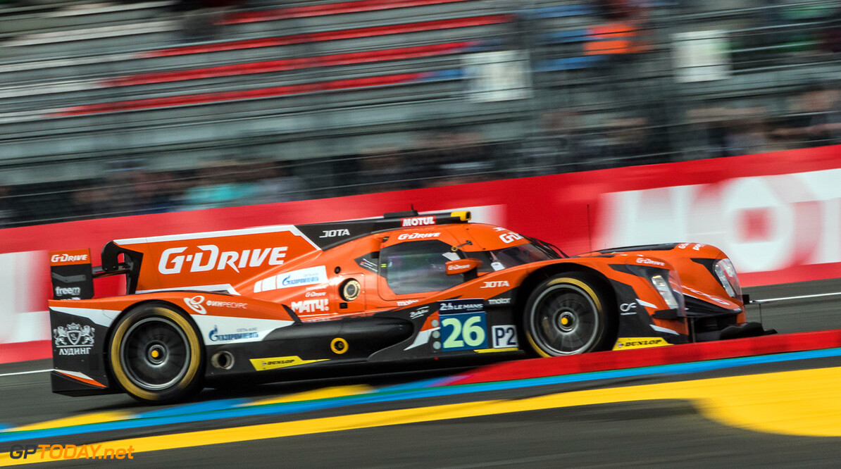 GT7D0397.jpg #26 G-DRIVE RACING (RUS) / DUNLOP / ORECA 05 - NISSAN / Roman RUSINOV (RUS) / Will STEVENS (GBR) / Ren? RAST (DEU)Le Mans 24 Hour - Circuit des 24H du Mans  - Le Mans - France   #26 G-DRIVE RACING (RUS) / DUNLOP / ORECA 05 - NISSAN / Roman RUSINOV (RUS) / Will STEVENS (GBR) / Ren? RAST (DEU)Le Mans 24 Hour - Circuit des 24H du Mans  - Le Mans - France   Gabi Tomescu Le Mans France  Adrenal Media 24h Le Mans Endurance France