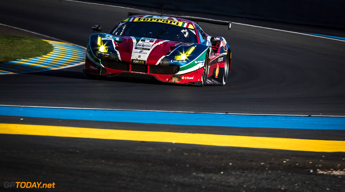 GT7D3076.jpg #51 AF CORSE (ITA) / MICHELIN / FERRARI 488 GTE / Gianmaria BRUNI (ITA) / James CALADO (GBR) / Alessandro PIER GUIDI (ITA)Le Mans 24 Hour - Circuit des 24H du Mans  - Le Mans - France   #51 AF CORSE (ITA) / MICHELIN / FERRARI 488 GTE / Gianmaria BRUNI (ITA) / James CALADO (GBR) / Alessandro PIER GUIDI (ITA)Le Mans 24 Hour - Circuit des 24H du Mans  - Le Mans - France   Gabi Tomescu Le Mans France  Adrenal Media 24h Le Mans Endurance France