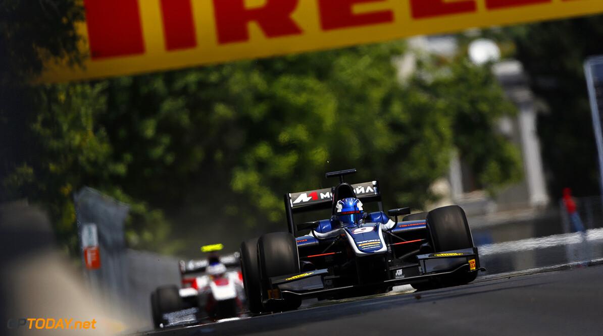 2016 GP2 Series Round 3 Baku, Azerbaijan. Saturday 18 June 2016. Raffaele Marciello (ITA, RUSSIAN TIME)  Photo: Andy Hone/GP2 Series Media Service. ref: Digital Image _ONY0763  Andy Hone    Race One feature action