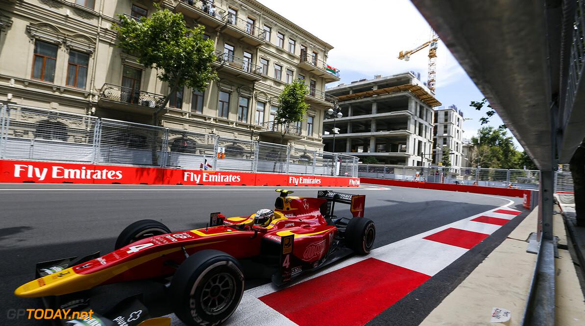 2016 GP2 Series Round 3 Baku, Azerbaijan. Friday 17 June 2016. Jordan King (GBR, Racing Engineering  Photo: Sam Bloxham/GP2 Series Media Service. ref: Digital Image _SB_2843  Sam Bloxham    Practice action