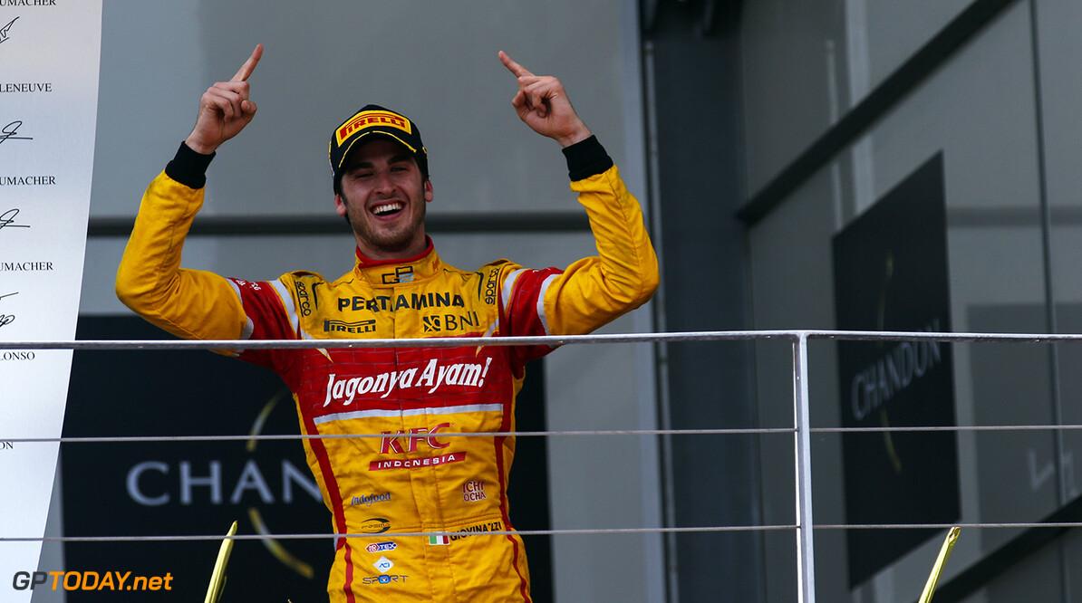 """Giovinazzi: """"GP2-titel alleen niet genoeg voor F1"""""""