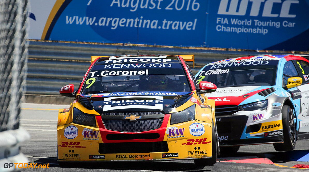 09 CORONEL Tom (ned) Chevrolet Cruze team Roal motorsport action during the 2016 FIA WTCC World Touring Car Championship race of Portugal, Vila Real from July 24 to 26 - Photo Jorge Cunha / DPPI AUTO - WTCC PORTUGAL 2016 Jorge Cunha    Auto COURSE Motorsport championnat du monde circuit fia tourisme wtcc