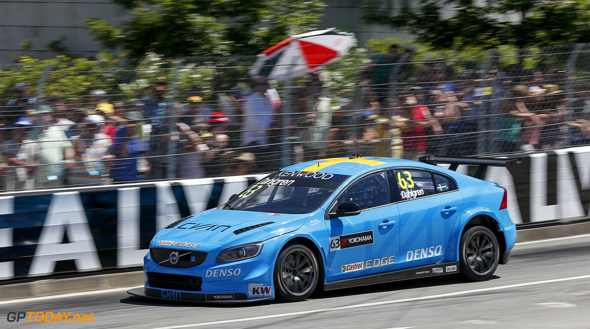 63 DAHLGREN Robert (swe) Volvo S60 team Volvo Polestar action during the 2016 FIA WTCC World Touring Car Championship race of Portugal, Vila Real from July 24 to 26 - Photo Alexandre Guillaumot / DPPI AUTO - WTCC PORTUGAL 2016 Alexandre Guillaumot Vila Real Portugal  Auto CHAMPIONNAT DU MONDE CIRCUIT COURSE FIA Motorsport TOURISME WTCC